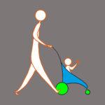 Transport de personnes avec enfants en poussette